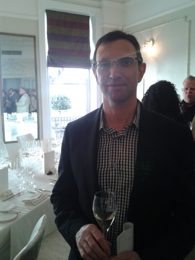 Frederic Panaiotis, Ruinart Chef de Cave