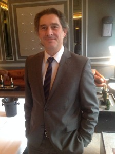 Benoit Gouez of Moet at 2006 launch in 2014