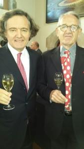 Pierre-Emmanuel Taittinger and Stephen Skelton